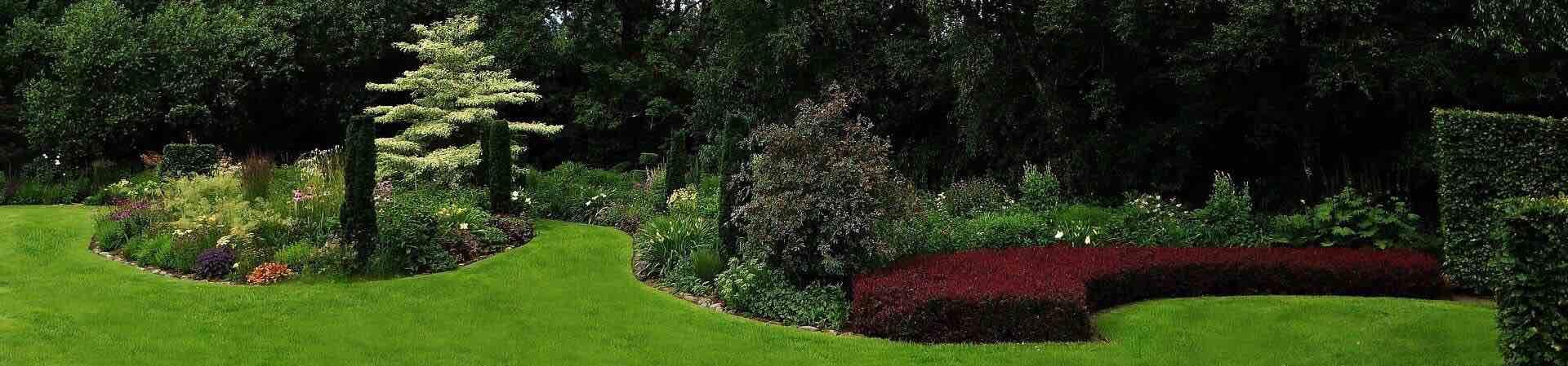 Ziergarten im Gartenportal